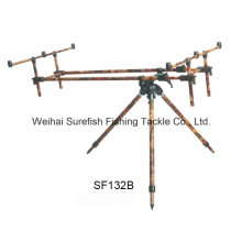 Wholesale Aluminium Camo Color Carp Fishing Rod Pod